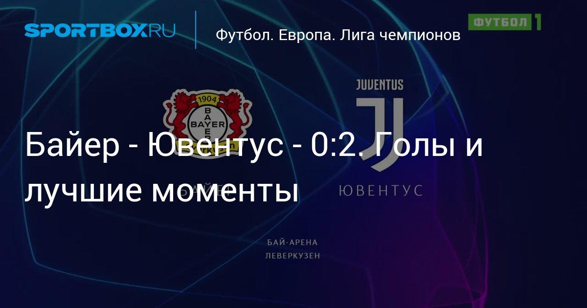 Футбол лига чемпионов бавариЯ- ювентус голы
