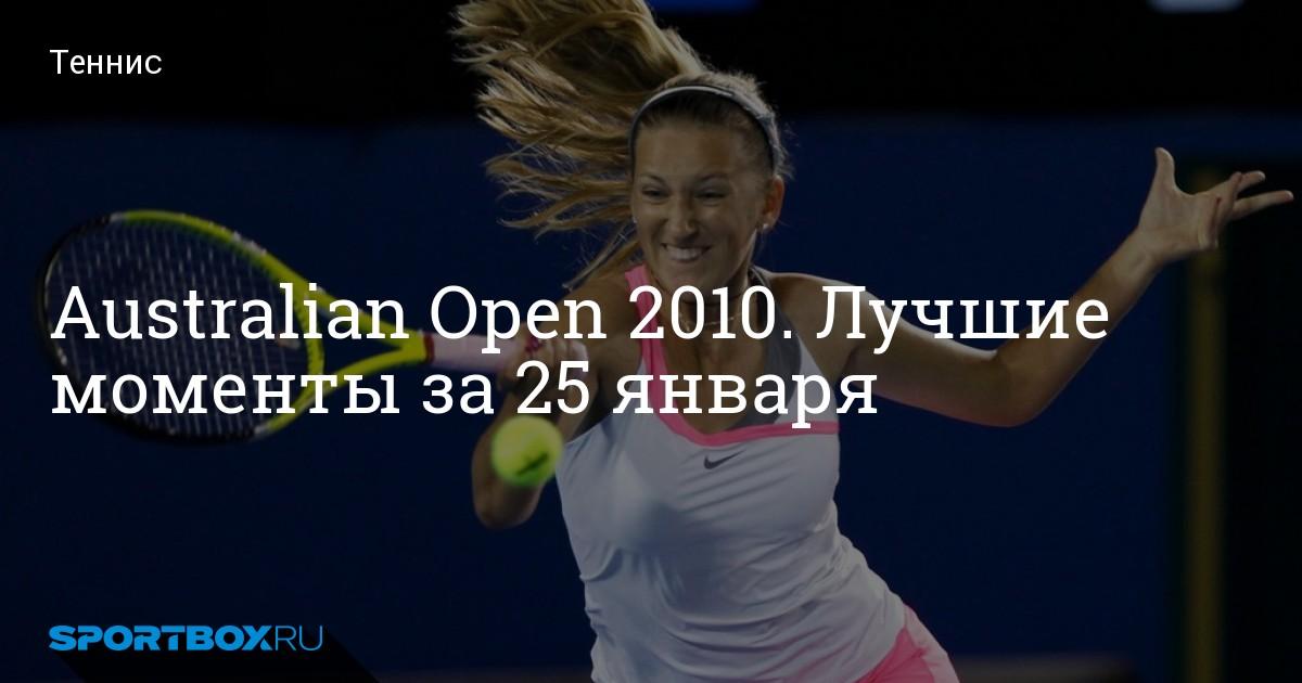 Теннис Результаты