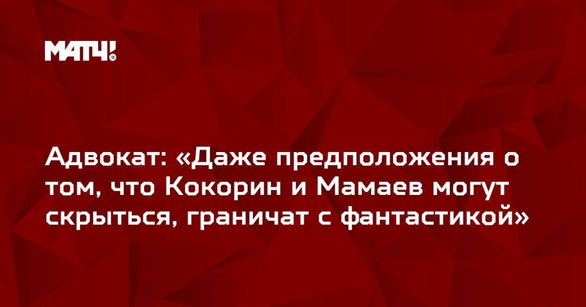 Адвокат: «Даже предположения о том, что Кокорин и Мамаев могут скрыться, граничат с фантастикой»