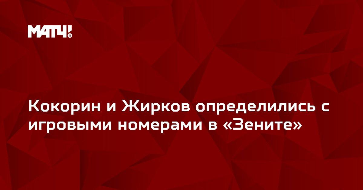 Кокорин и Жирков определились с игровыми номерами в «Зените»