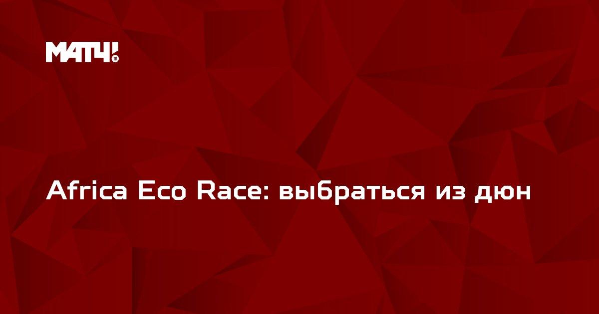 Africa Eco Race: выбраться из дюн