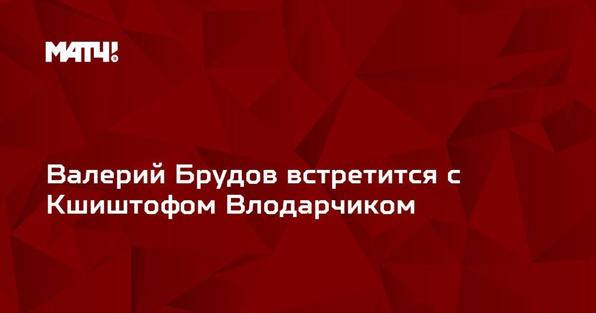 Валерий Брудов встретится с Кшиштофом Влодарчиком