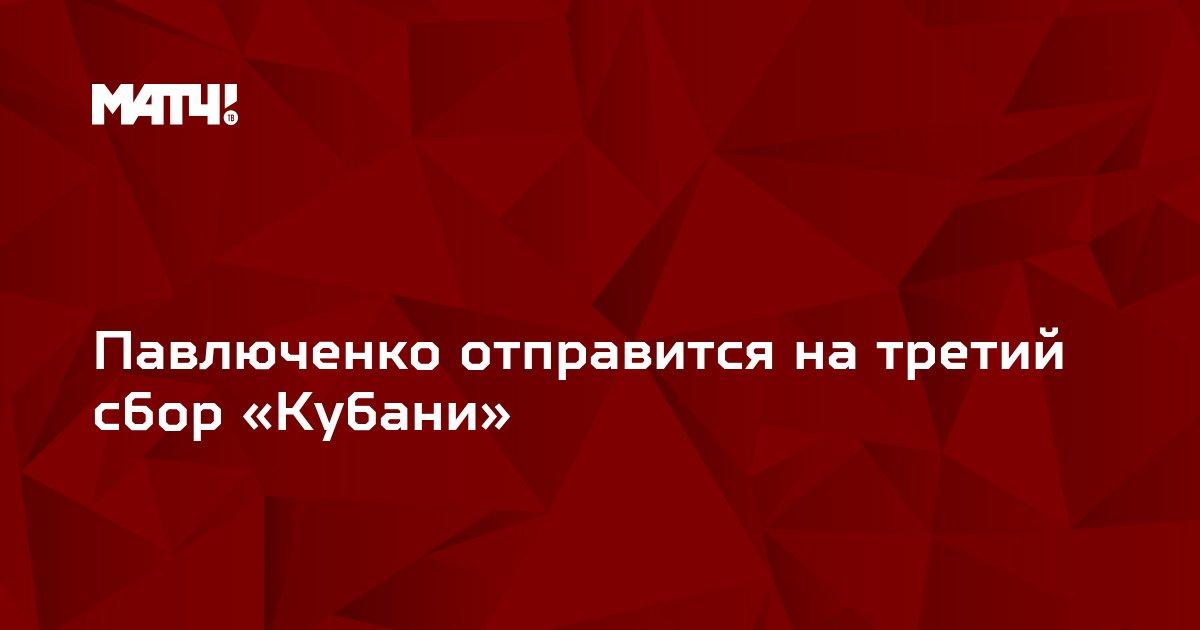 Павлюченко отправится на третий сбор «Кубани»