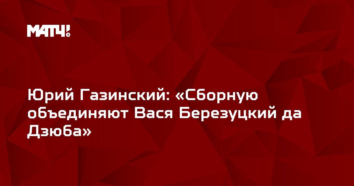 Юрий Газинский: «Сборную объединяют Вася Березуцкий да Дзюба»