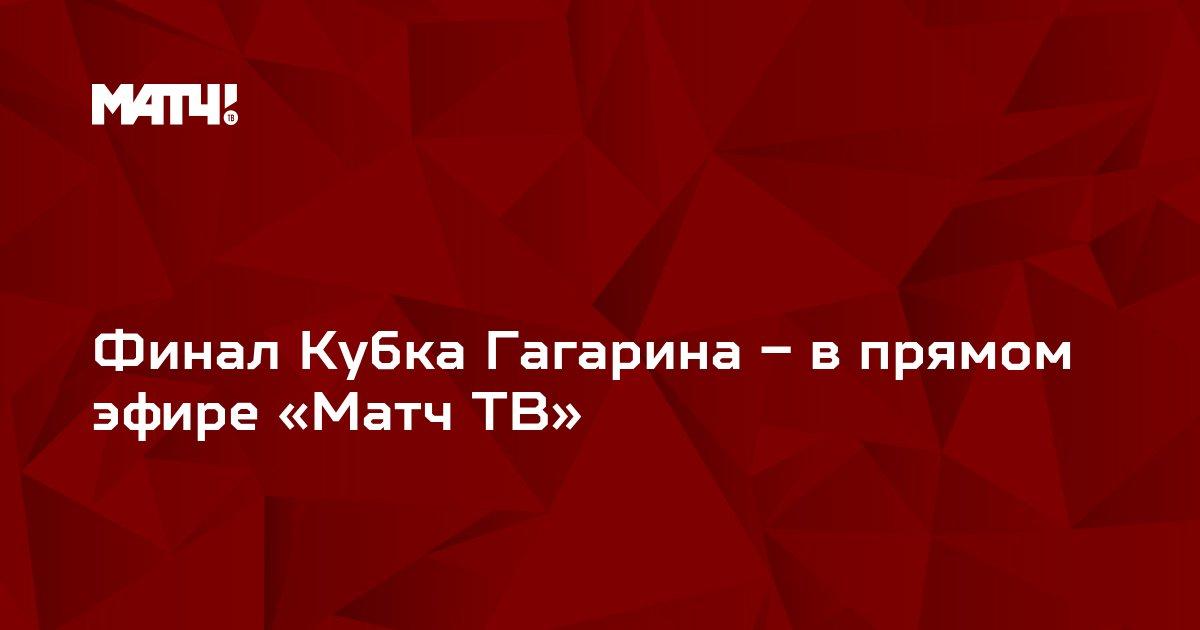 Финал Кубка Гагарина – в прямом эфире «Матч ТВ»