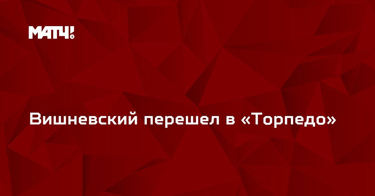 Вишневский перешел в «Торпедо»