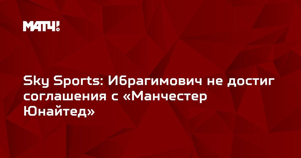 Sky Sports: Ибрагимович не достиг соглашения с «Манчестер Юнайтед»