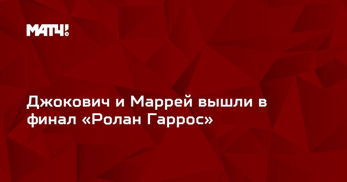 Джокович и Маррей вышли в финал «Ролан Гаррос»