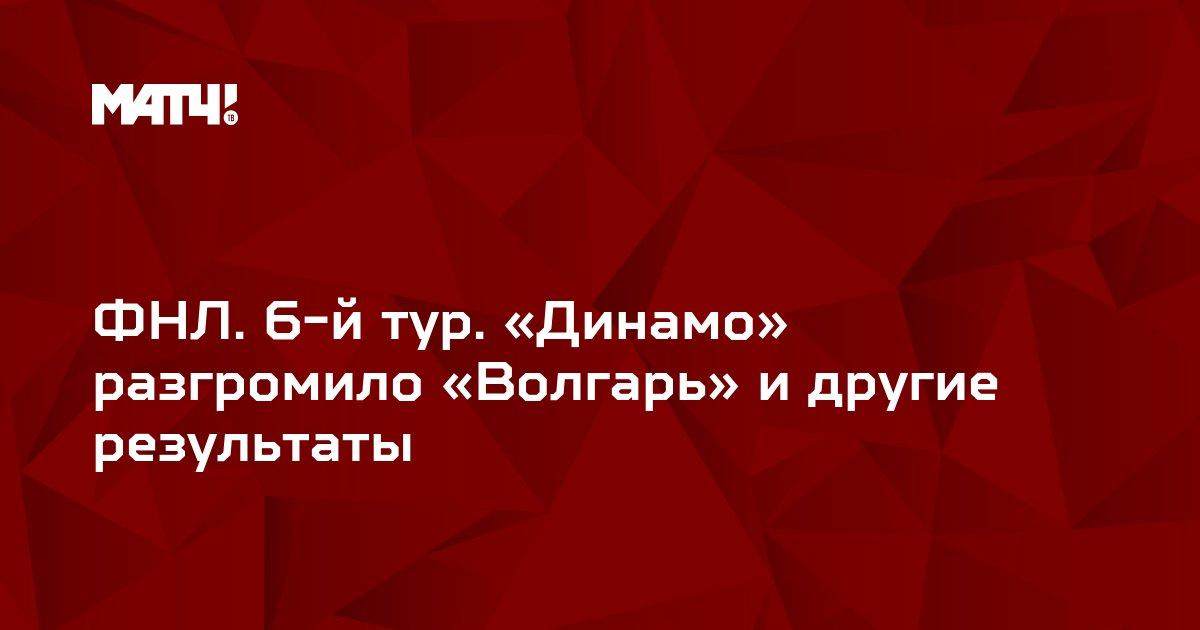 ФНЛ. 6-й тур. «Динамо» разгромило «Волгарь» и другие результаты