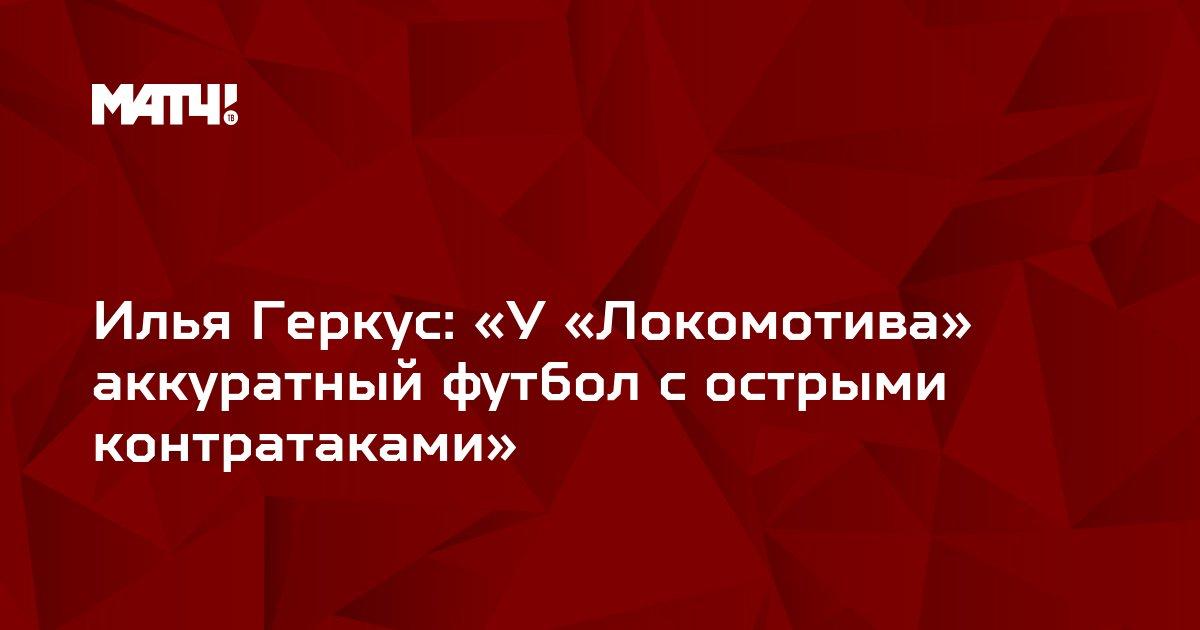 Илья Геркус: «У «Локомотива» аккуратный футбол с острыми контратаками»
