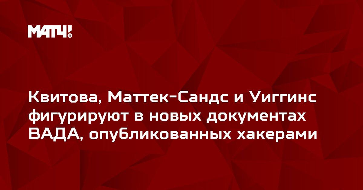 Квитова, Маттек-Сандс и Уиггинс фигурируют в новых документах ВАДА, опубликованных хакерами
