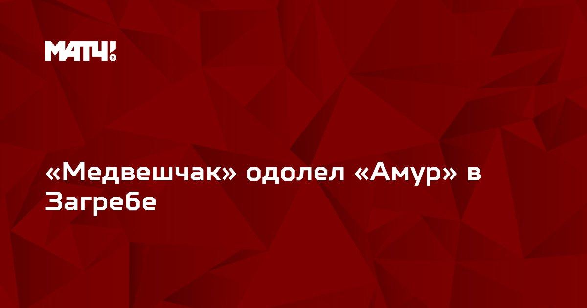 «Медвешчак» одолел «Амур» в Загребе