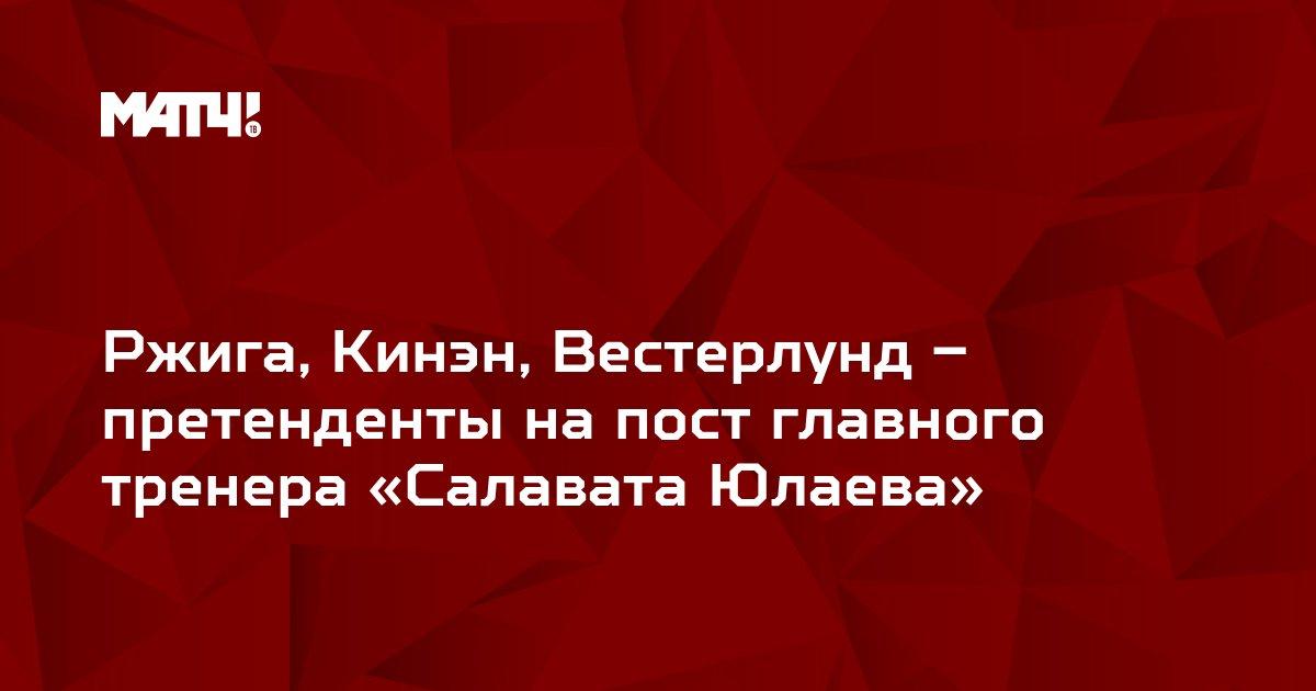 Ржига, Кинэн, Вестерлунд – претенденты на пост главного тренера «Салавата Юлаева»