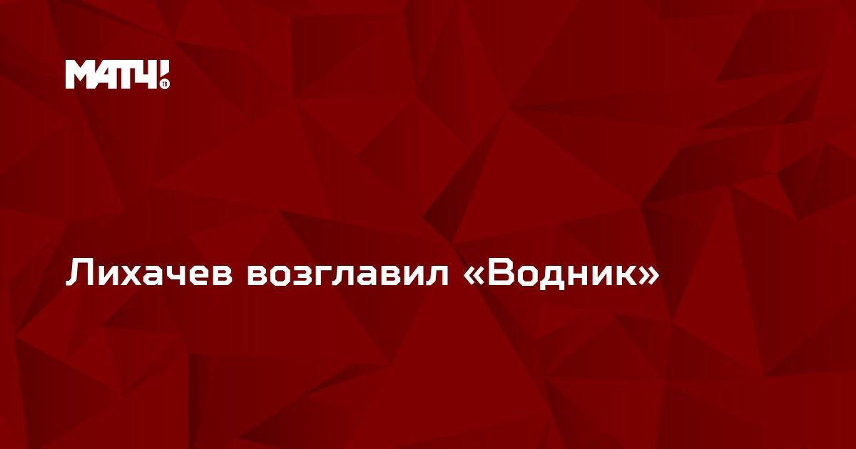 Лихачев возглавил «Водник»