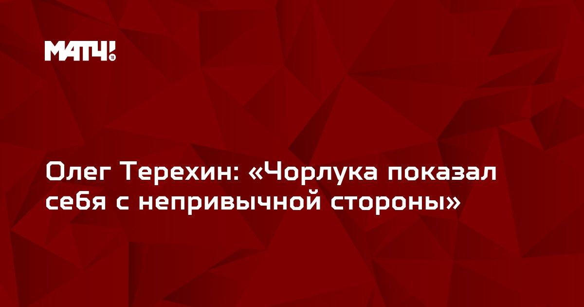 Олег Терехин: «Чорлука показал себя с непривычной стороны»