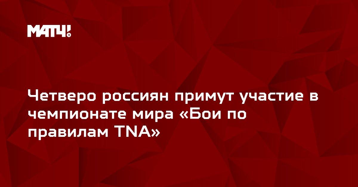 Четверо россиян примут участие в чемпионате мира «Бои по правилам ТNА»