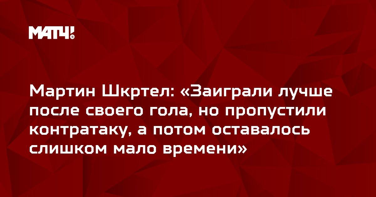 Мартин Шкртел: «Заиграли лучше после своего гола, но пропустили контратаку, а потом оставалось слишком мало времени»