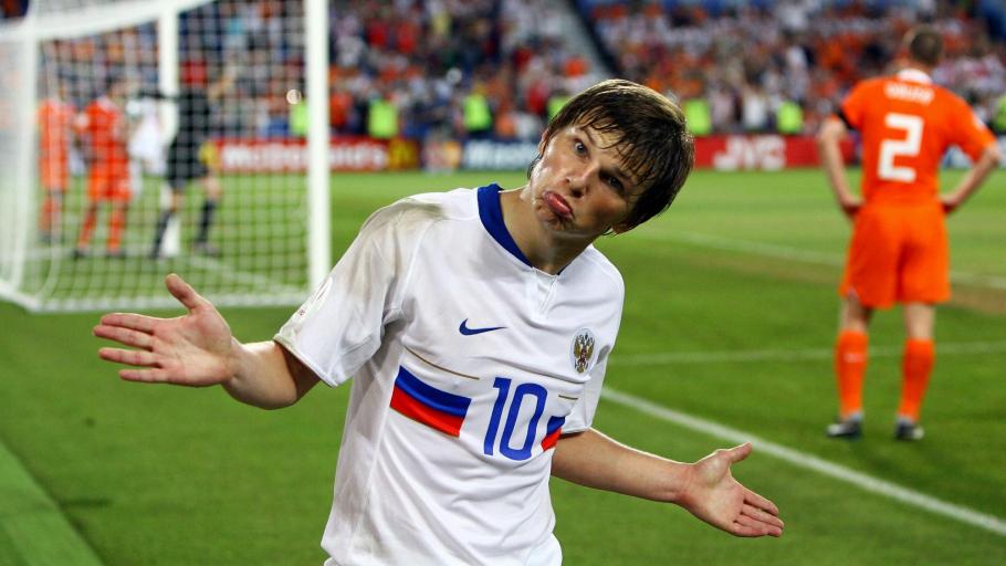 Аршавин вошел в список лучших футболистов, никогда не игравших на ЧМ