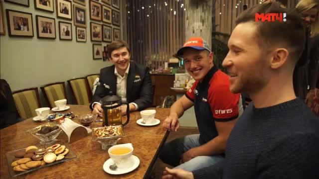 «Три товарища»: три Сергея Карякина российского спорта
