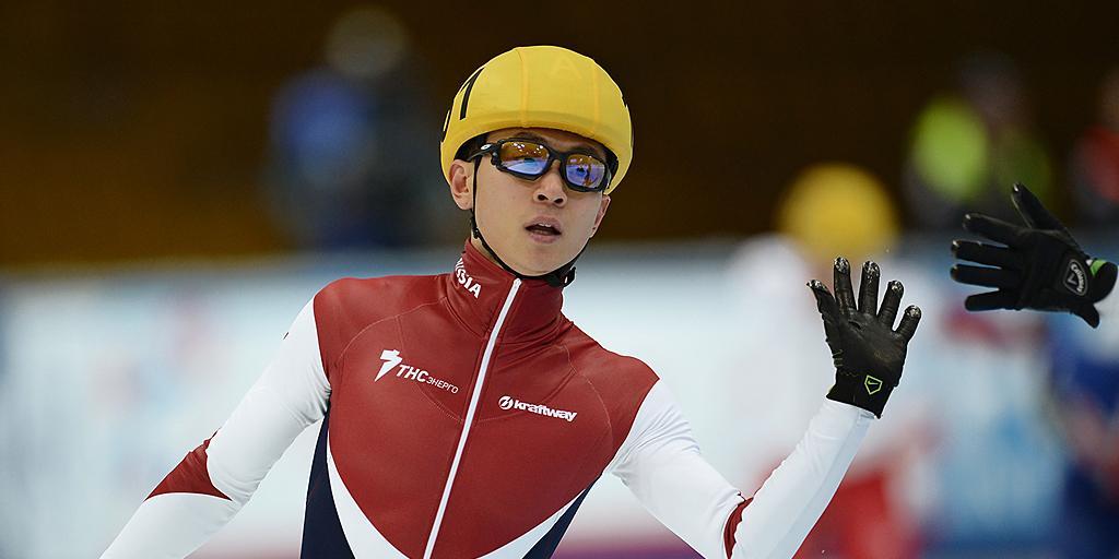 Виктор Ан взял бронзу на этапе Кубка мира, Елистратов — серебро