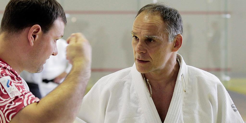 Эцио Гамба: «Когда говорю «мужчина», дзюдоисты сильнее становятся»