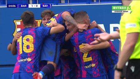 Барселона-м— Бавария-м. 2:0. Арнау Касас