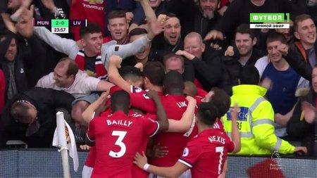 Манчестер юнайтед леверпуль 2 1