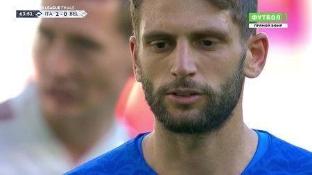 Италия— Бельгия. 2:0. Доменико Берарди (пенальти)