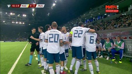 ¡Buen trabajo! Los visitantes de Sportbox.ru apreciaron el juego del equipo ruso con Kazajstán, pero sin euforia.