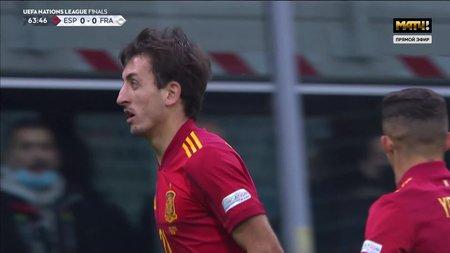 Испания— Франция. 1:0. Микель Оярсабаль