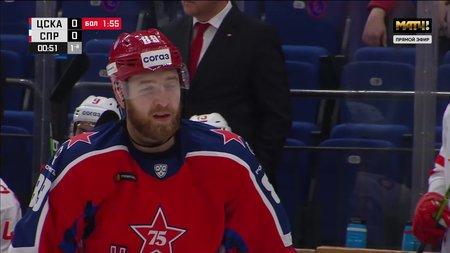 ЦСКА— Спартак. 1:0. Сергей Плотников