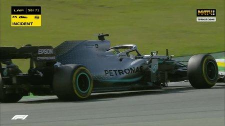 Боттас может получить штраф на последнем этапе Гран-при