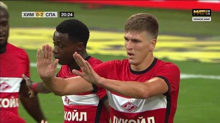 Химки— Спартак. 0:2. Александр Соболев