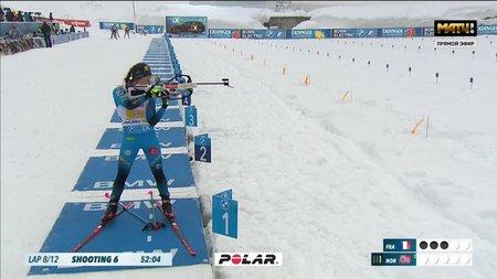 Норвегия выиграла золото смешанной эстафеты, россияне с двумя штрафными кругами — девятые