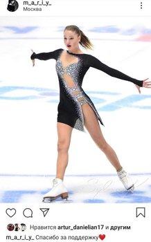 «Спасибо за поддержку». Сотскова обратилась к болельщикам после дисквалификации