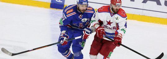 ЦСКА выигрывает, Калинин грубо атакует Светлакова, микроматч Радулова и Ковальчука кончается вничью
