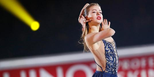 Главная соперница Евгении Медведевой