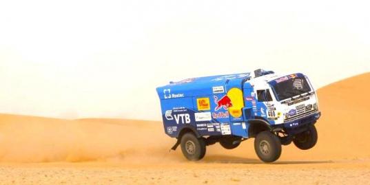 Каргинов и Куприянов — лучшие на старте в Мавритании. 6-й этап Africa Eco Race