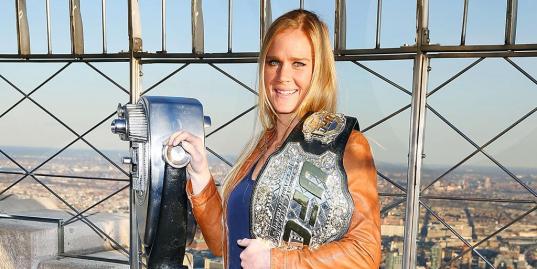 «Все думают, что бойцы UFC агрессивные люди». Правила жизни особо опасной девушки