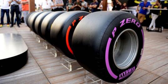 Как выглядят новые шины «Формулы-1»