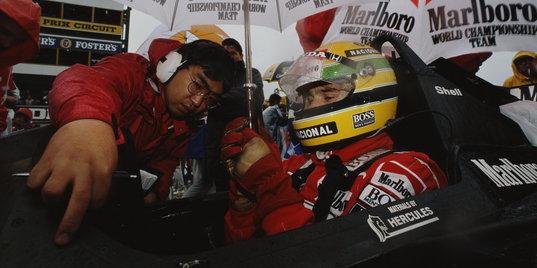 «Раньше была графика, которую сейчас не видим». Попов – о первых показах «Формулы-1» в России