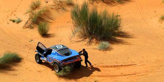 Истории, которые возможны только на Africa Eco Race. 10-й этап