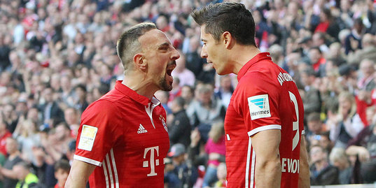 «Бавария» громит «Боруссию» Дортмунд. Все голы