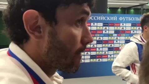 Юрий Жирков: «Такие у нас, значит, болельщики»