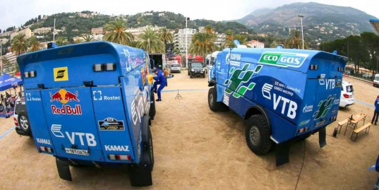 В Монако стартовал ралли-марафон Africa Eco Race