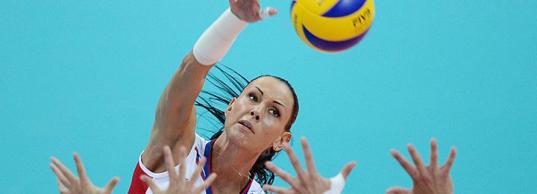 Как тренируется самая эффектная волейболистка России