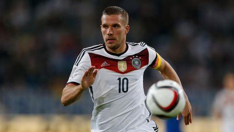 Подольски принес Германии победу над Англией в прощальном матче