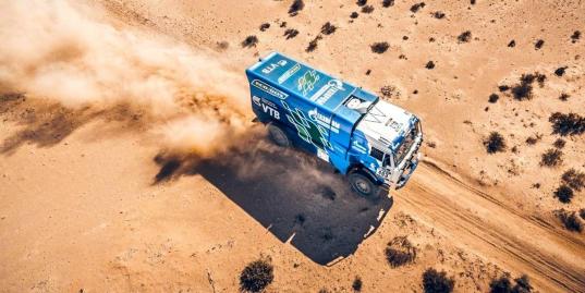 Экипажи «КАМАЗ-Мастер» снова первые. 5-й этап Africa Eco Race