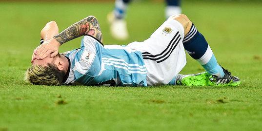 Эта вратарская ошибка может оставить Аргентину без ЧМ-2018