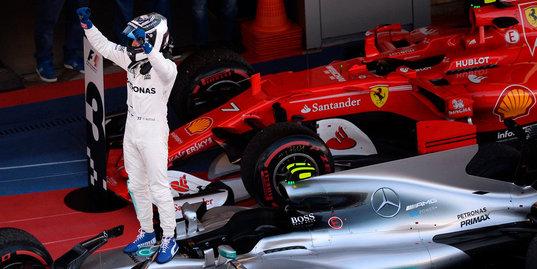 Боттас – победитель Гран-при России. Лучшие моменты гонки